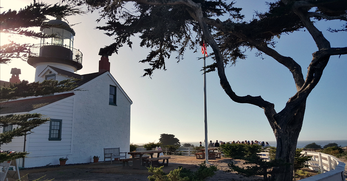 5 point pinos lighthouse
