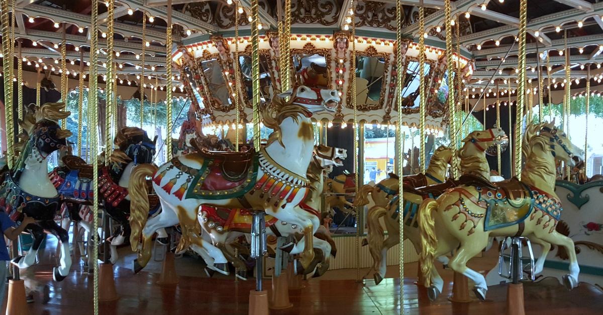 8 gilroy gardens carousel