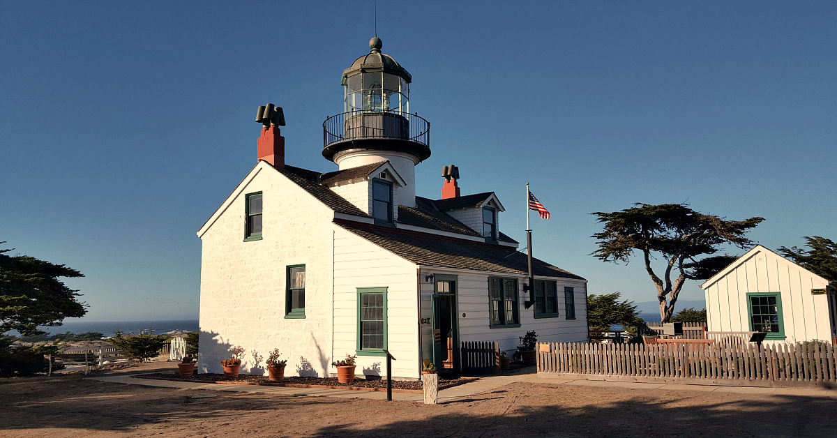 9 point pinos lighthouse