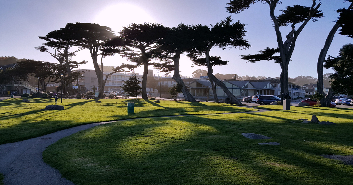 4 pacific grove lovers point park