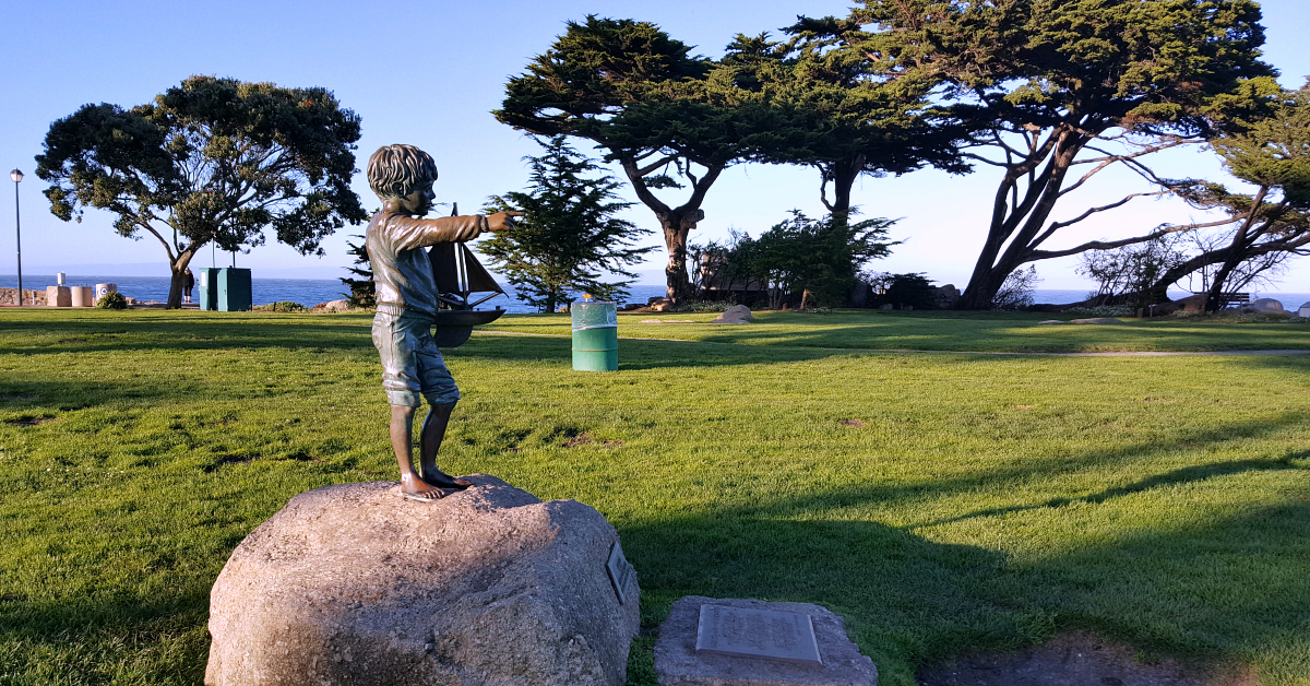 6 pacific grove lovers point art