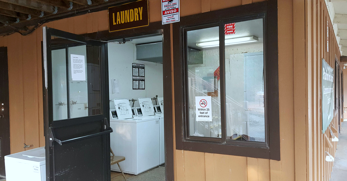 morgan hill rv laundry