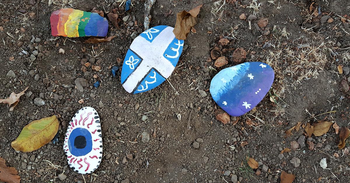 morgan hill rv painted rocks