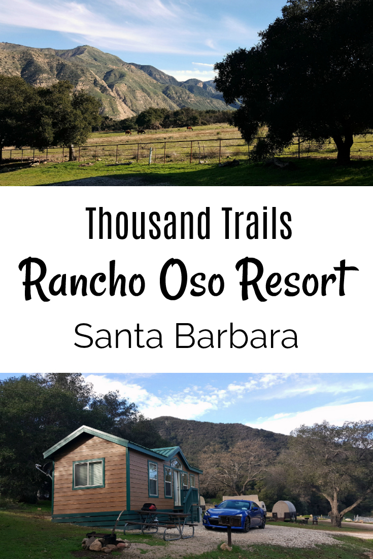 pin thousand trails rancho oso resort