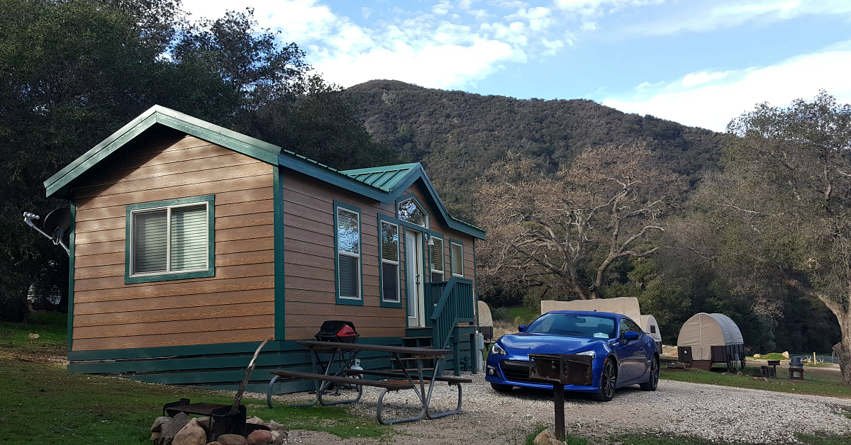 rancho oso getaway cabin