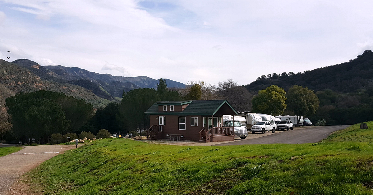 rancho oso rvs cabin