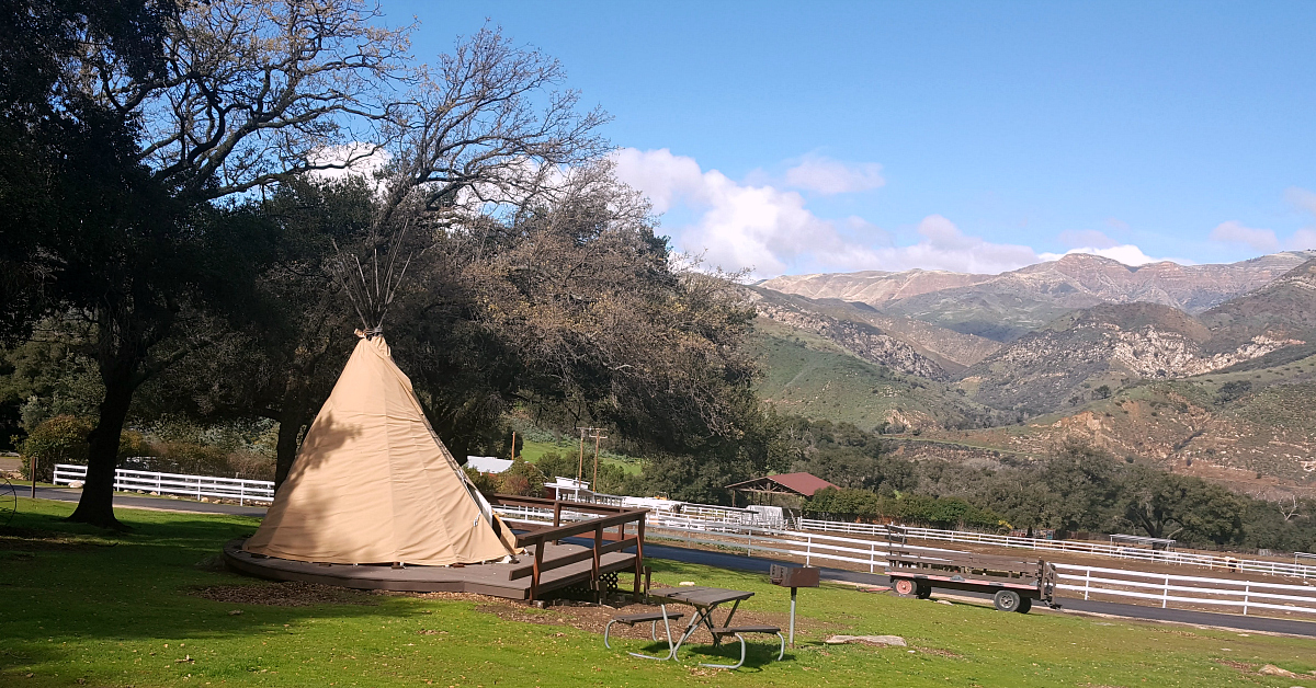 rancho oso teepee mountains