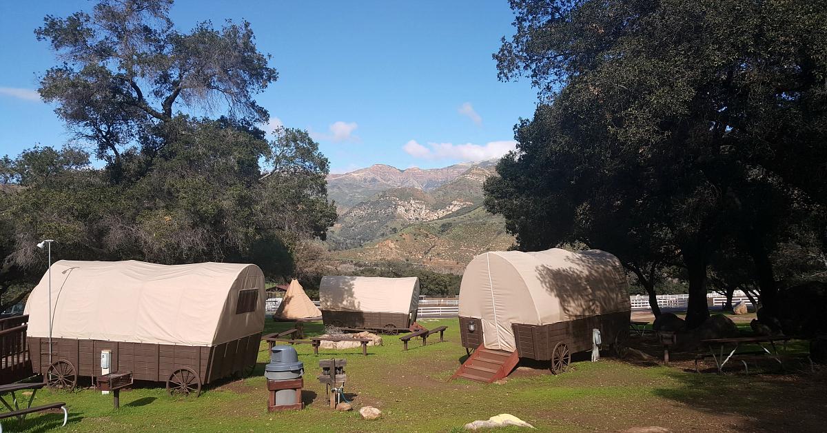 rancho oso wagons mountains