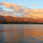 Stearns Wharf Sunset in Santa Barbara