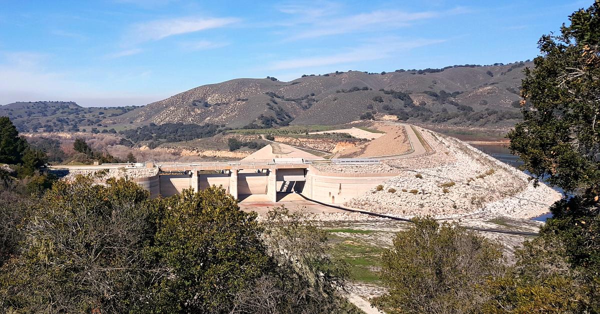 santa ynez river bradbury dam