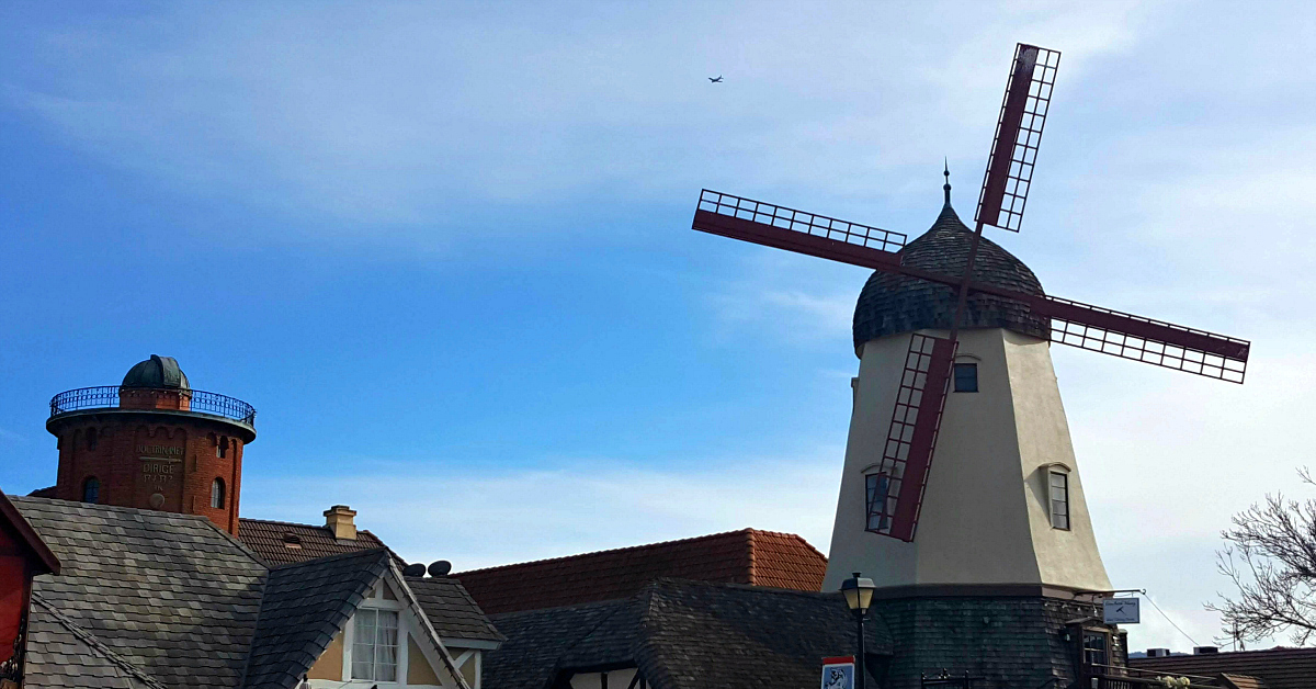 windmill in solvang