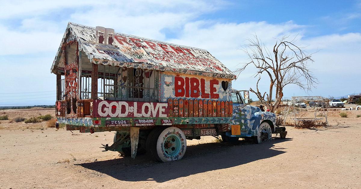 bible god is love truck