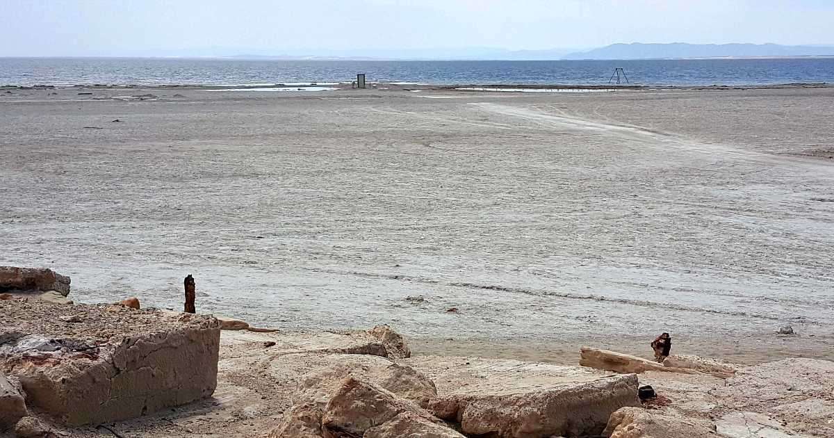 bombay beach low water levels