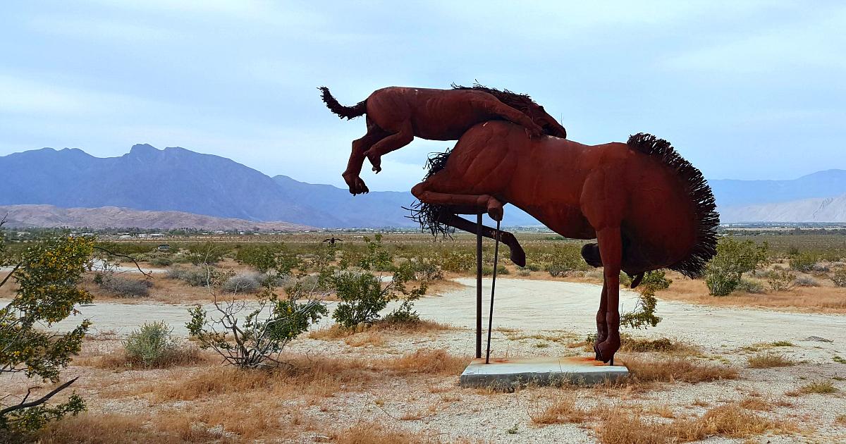 galleta springs horse attack art