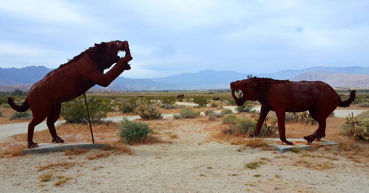 metal sculptures galleta meadows