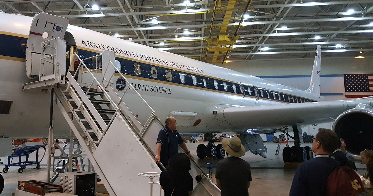 dc-8 armstrong flight research earth science lab