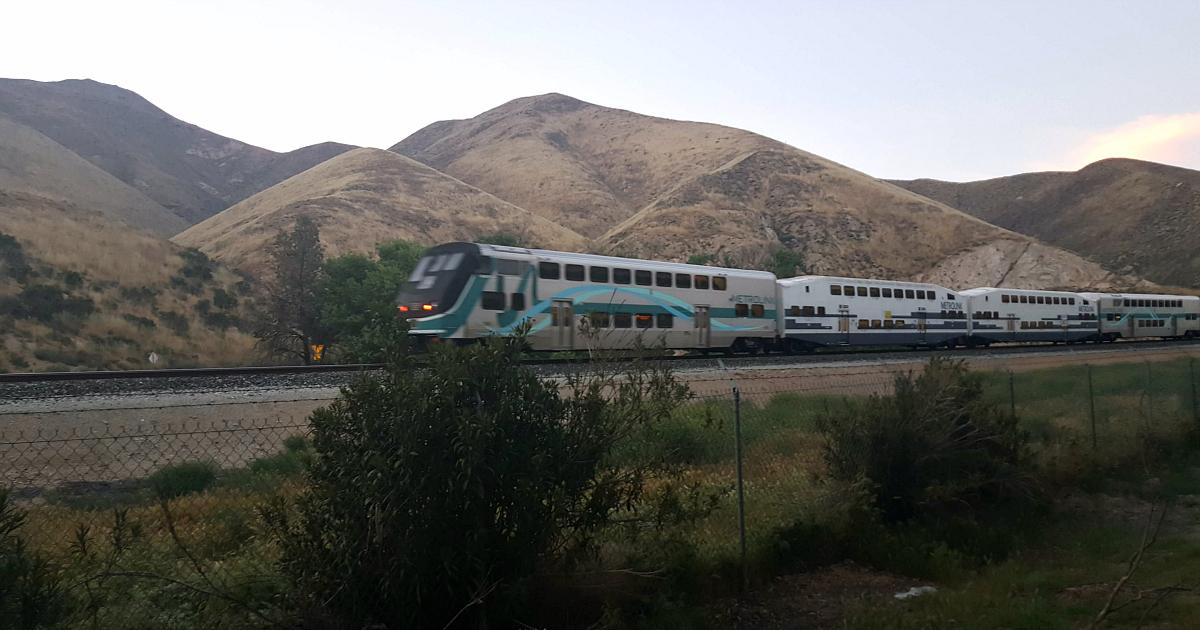 thousand trails adjacent train track