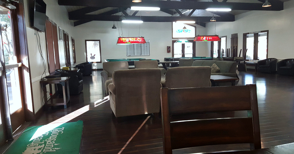 thousand trails lodge game room
