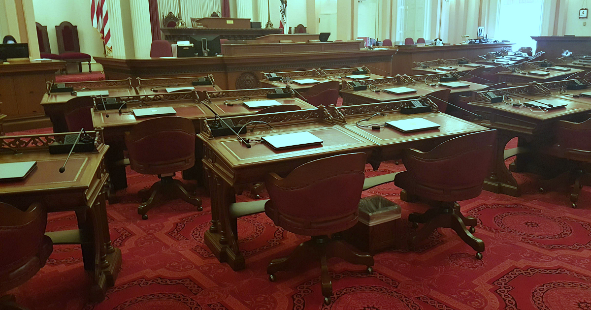california state senate chamber