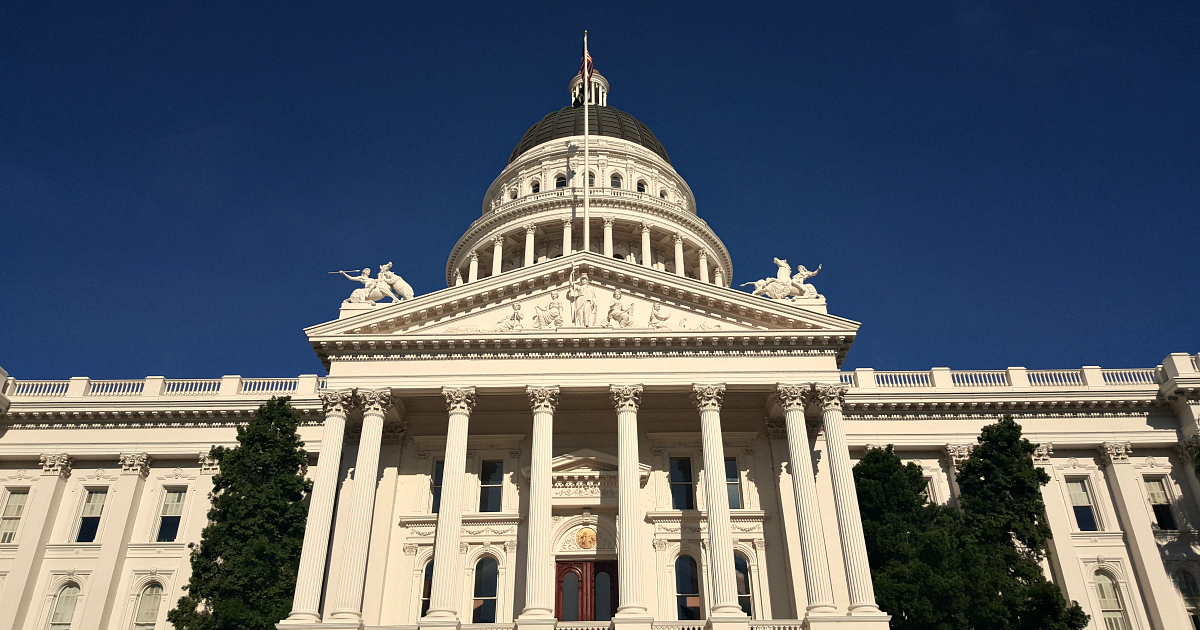 exploring california state capitol