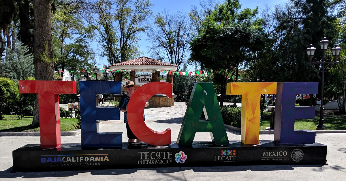 feature tecate sign mexico